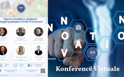"""Ndiqeni Live Konferencën:  """"Siguria E Produkteve Ushqimore Përgjatë Pandemisë COVID-19 Në Kosovë"""""""