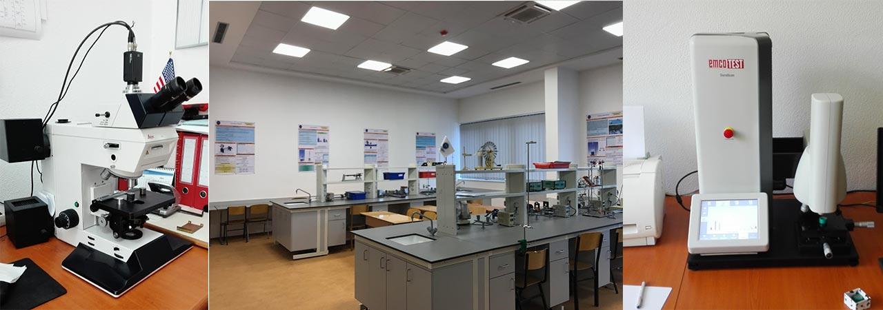 Laboratori i Fakultetit të Gjeoshkencave