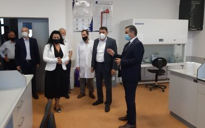 "Minister Of Education Visited ""Isa Boletini"" University"