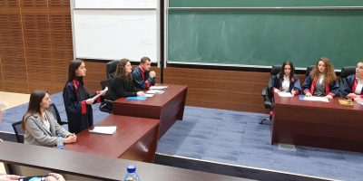 Simulated Trial Competition At The Faculty Of Law