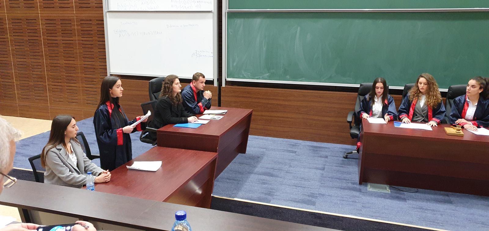Gjykimi i Simuluar në Fakultetin Juridik