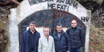 The Team Of Professors Of The Faculty Of Geosciences Paid A Study Visit To The Artana Mine