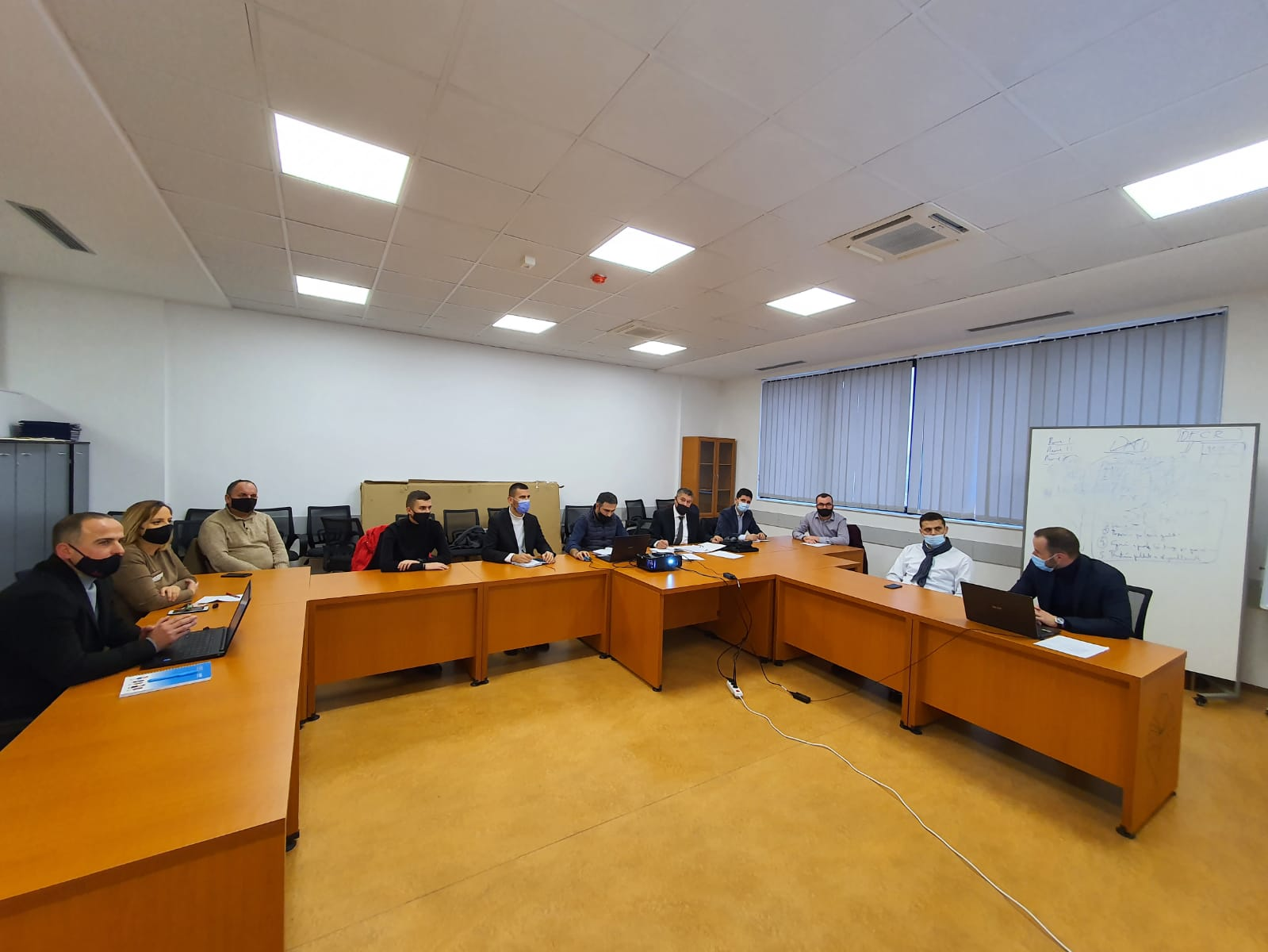 At the Faculty of Law, the Working Group for drafting the Self-Evaluation Report for the bachelor program held its next meeting