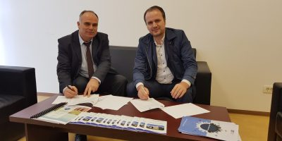 """The Faculty Of Economics, At The University """"Isa Boletini""""- Mitrovica, Signed A Cooperation Agreement With Several Successful Kosovar Companies"""