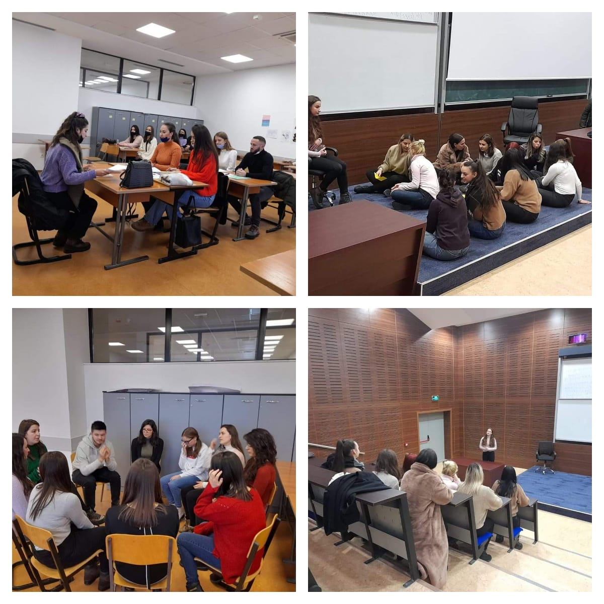 Presentation of the work of the fourth year students of the Primary Program at the Faculty of Education