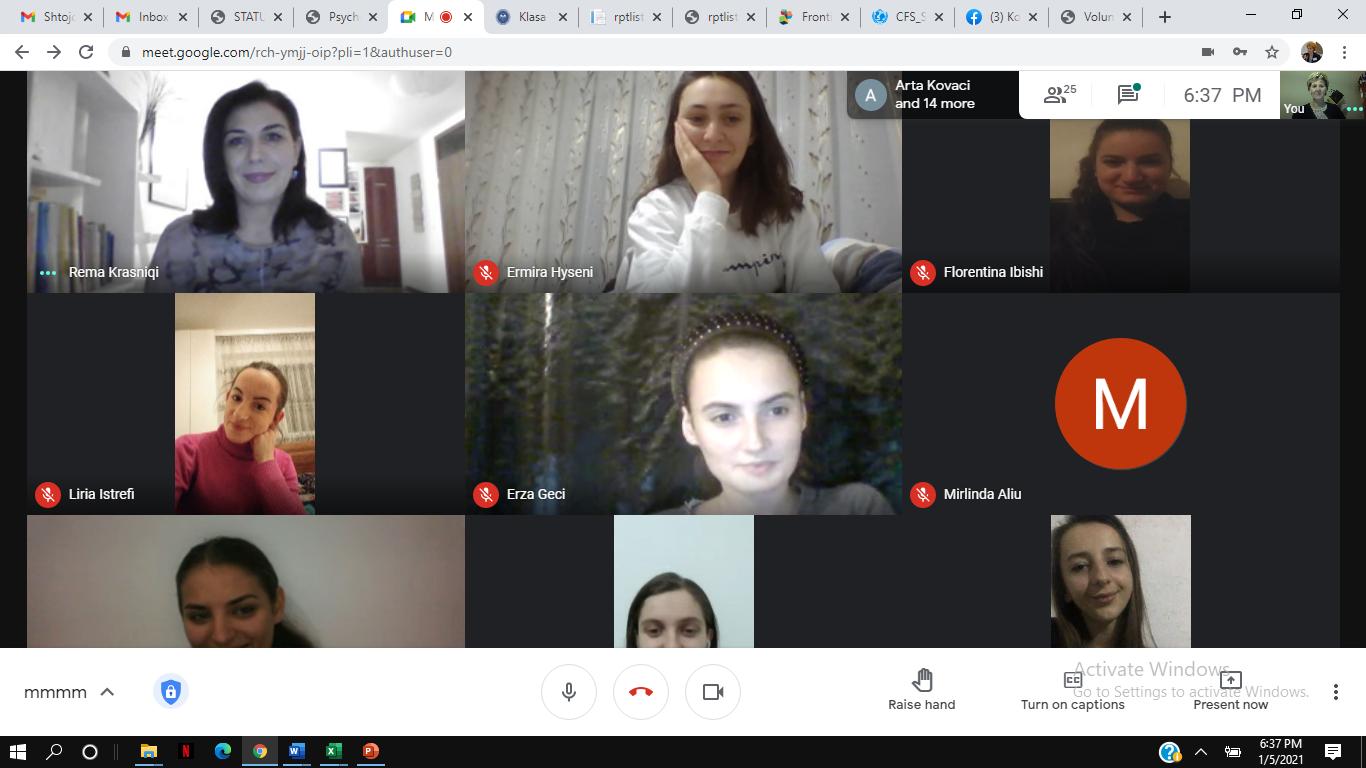Studentët e Fakultetit të Edukimit, kanë ndjekur një ligjëratë nga Remzije Krasniqi, Këshilltare Nacionale për Avokim dhe Edukim në SOS Fshatrat e Fëmijëve
