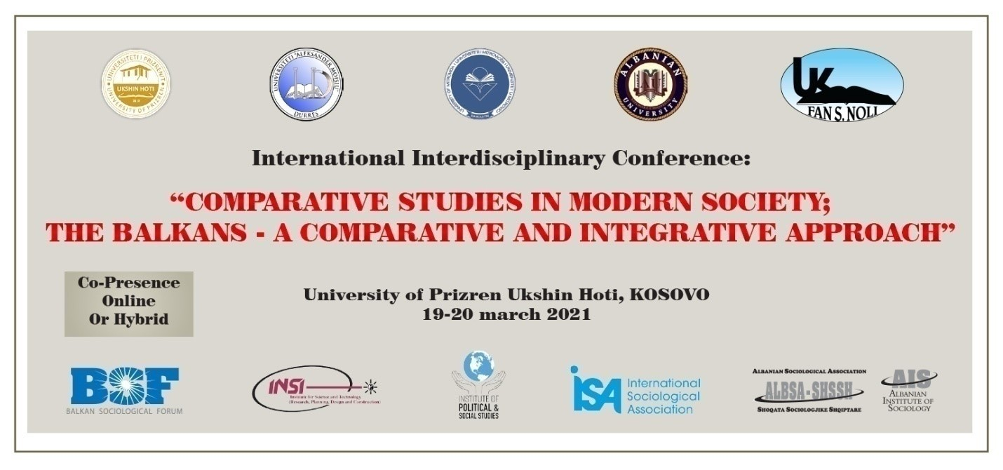 4th International Conference of the Balkan Sociological Forum (BSF)