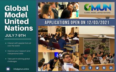 Ftesë Për Studentët Të Marrin Pjesë Në Edicionin E Sivjetëm Të Modelit Global Të Kombeve Të Bashkuara (GMUN)