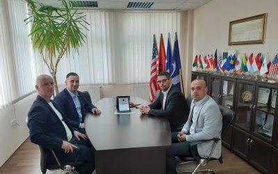Mirënjohje Për Drejtorin E AKSP-së, Arton Berisha