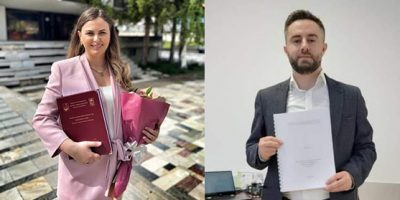 """Two Doctors Of Science Are Added To The University  """"Isa Boletini""""- Mitrovica"""