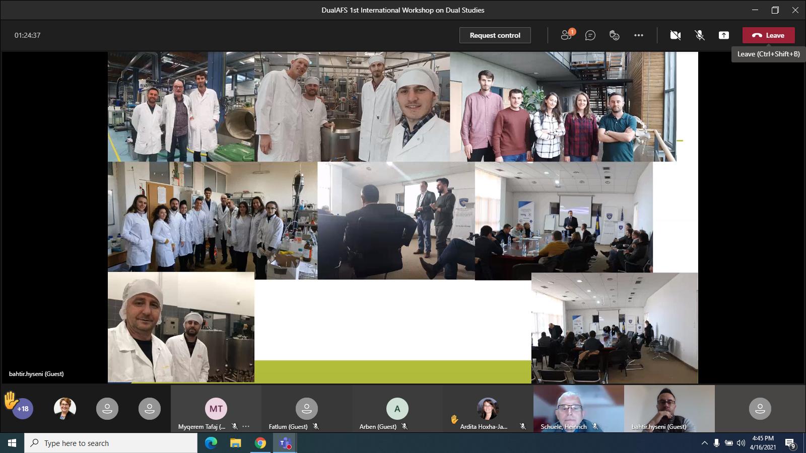 "U Mbajt WorkShop-i I Parë Ndërkombëtar Në Kuadër Të Projektit ""Dual Curricula – Study And Work Practice In Agriculture And Food Safety"""