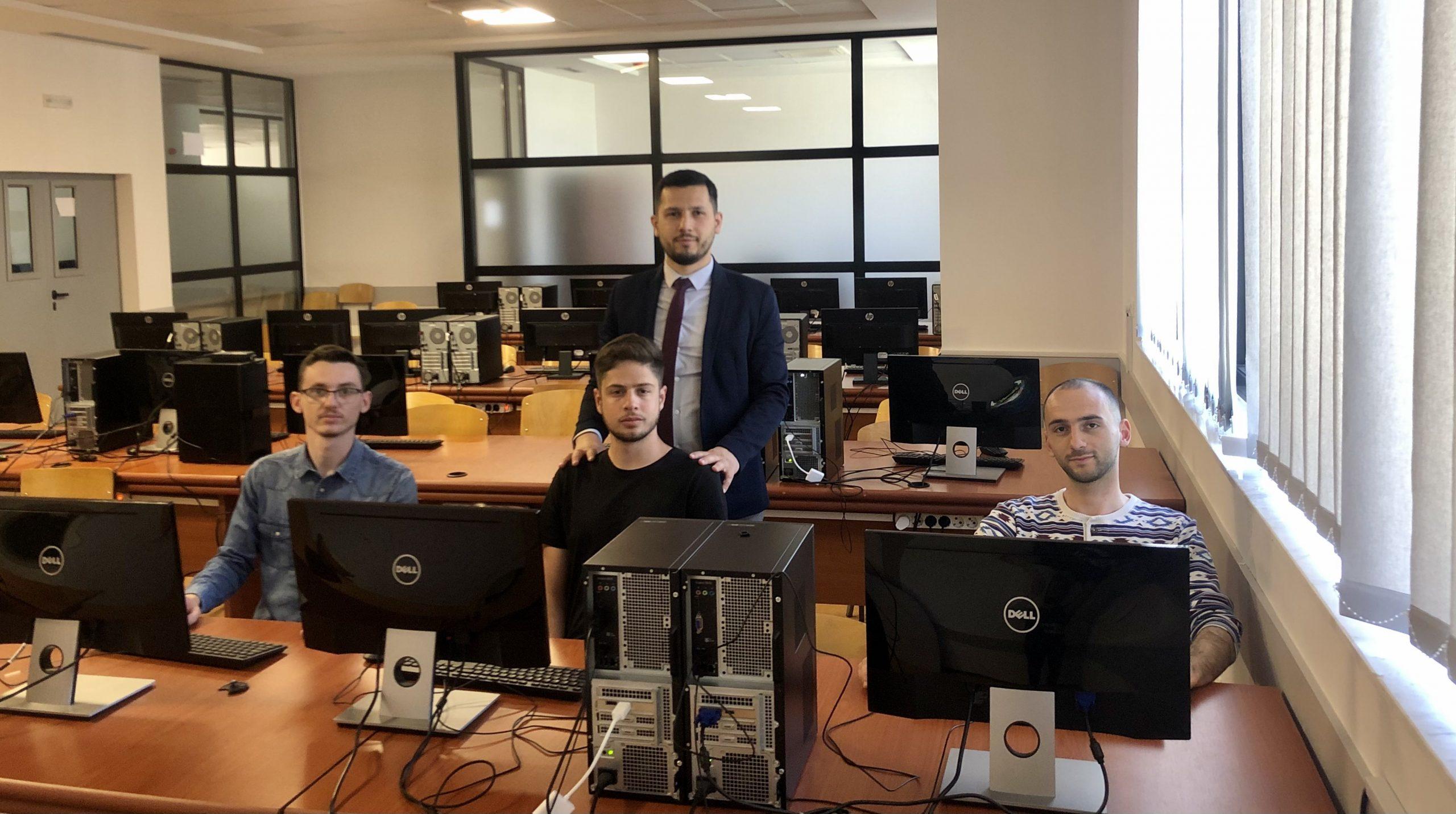 Studentët e UIBM dolën fitues në garën për siguri kibernetike si pjesë e ngjarjes CED Balkans 2021