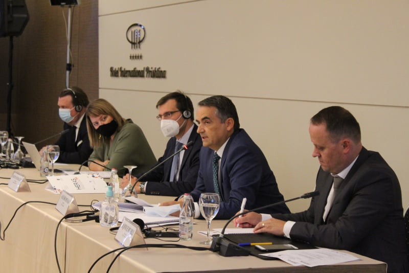 The Conference on Higher Education in Kosovo was held with rector Musaj as a chariman