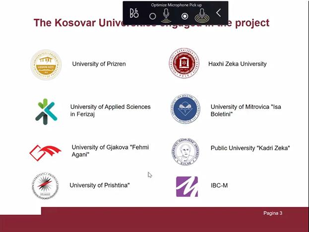 Lansimi I Raportit Vlerësues Për Gjendjen Aktuale Te Kapaciteteve Kërkimore Në Arsimin E Lartë Në Kosovë