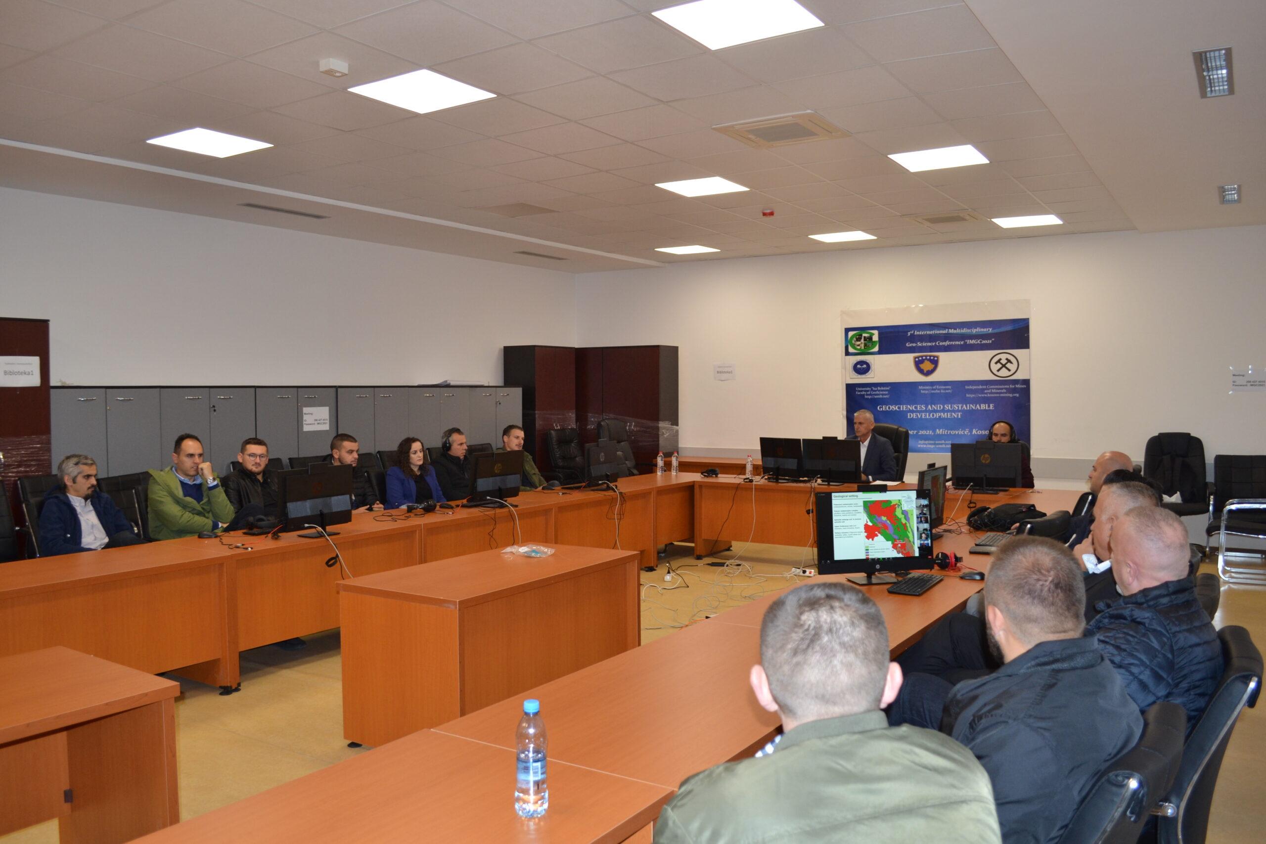 U mbajt Konferenca e Tretë Ndërkombëtare Multidiciplinare për Gjeoshkencë (IMGC2021)