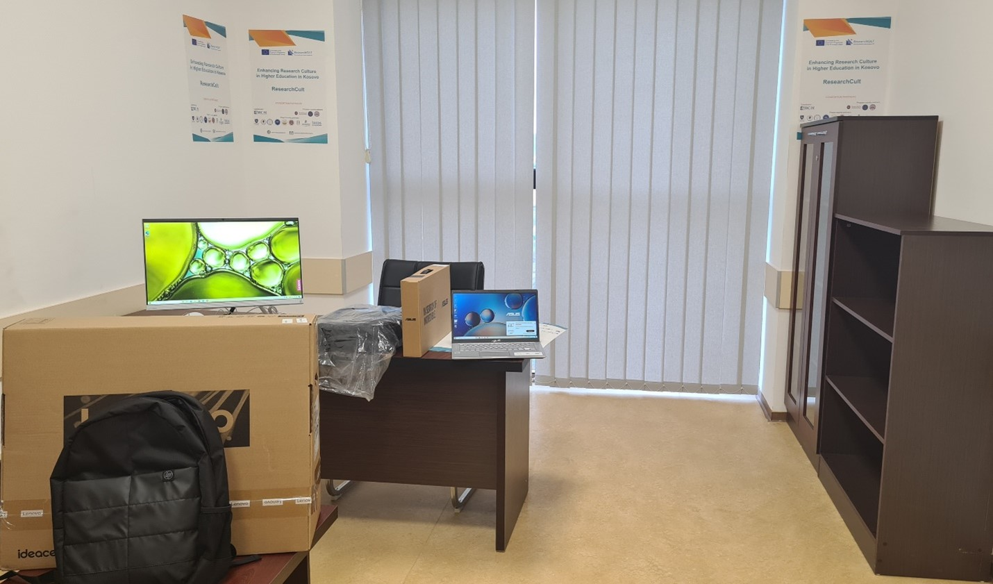 Furnizimi Me Kompjuterë I Zyrës Për Kërkime Shkencore