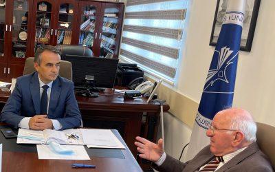 Urimi I Rektorit, Prof.dr. Alush Musaj, Me Rastin E 60-vjetorit Të Punës Së SHLT-së