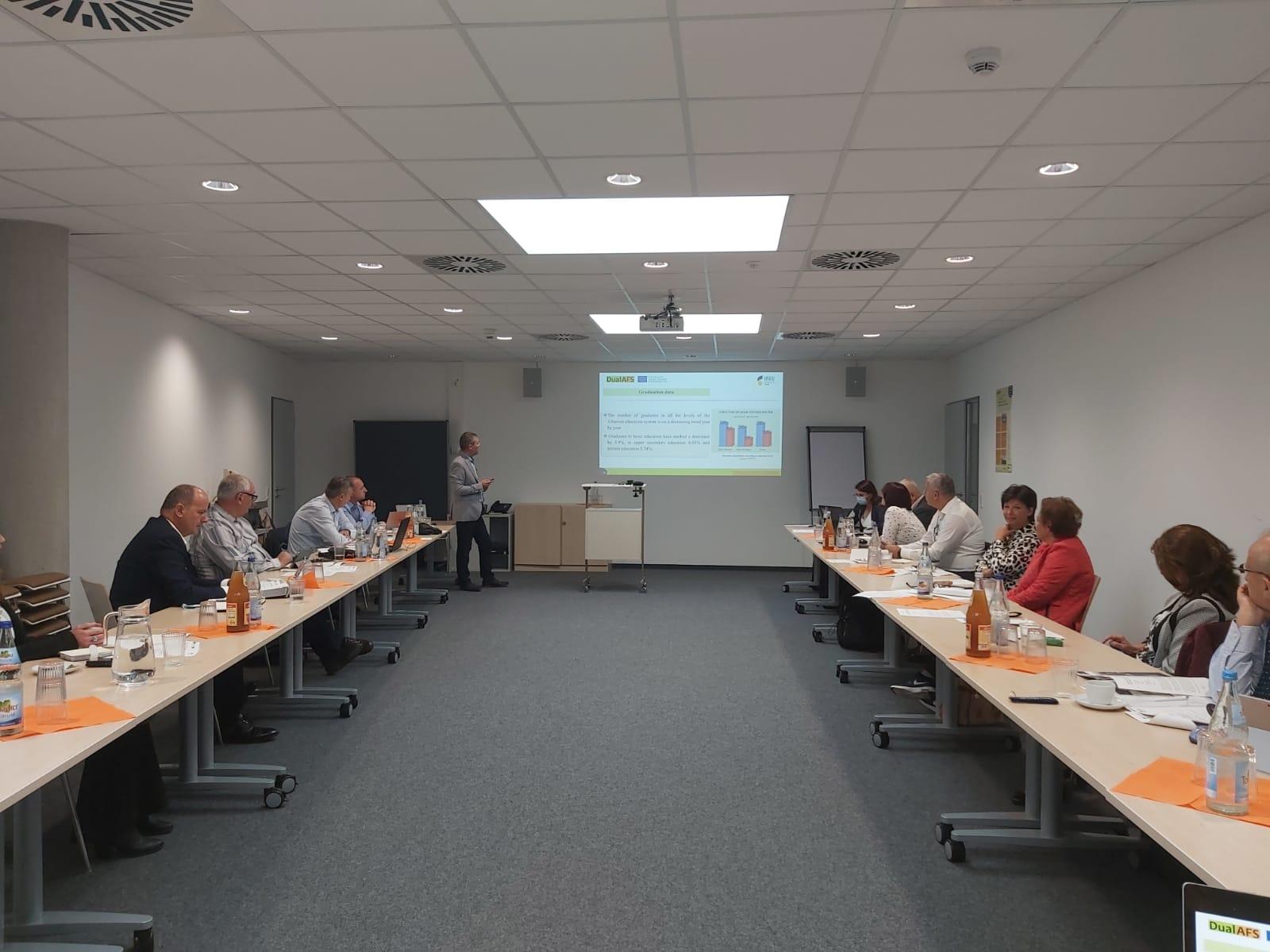 Në kuadër të projektit DualAFS u mbajt takimi i tretë i anëtarëve të Këshillit Drejtues